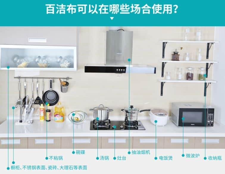 สั่งสินค้าจากจีนจัดการทุกคราบสกปรกด้วยฟองน้ำล้างจาน