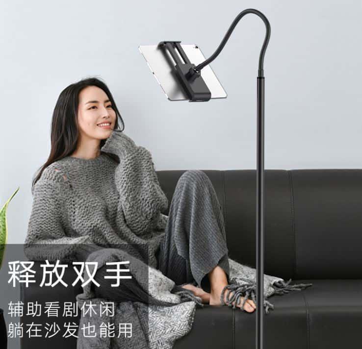 Shippingจีน เพิ่มการพักผ่อนสำหรับการดูทีวีกับขาตั้งโทรศัพท์อัจฉริยะ