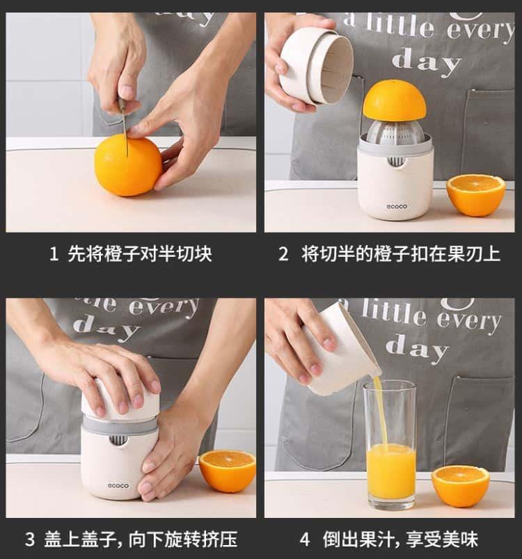สินค้าจากจีนดับร้อนกับเครื่องคั้นน้ำส้มทั้งสะอาดและสุขภาพดี