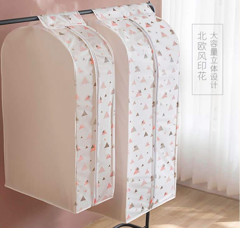 Taobao จัดการทุกคราบฝุ่นในตู้เสื้อผ้าด้วยถุงคลุมเสื้อจากจีน