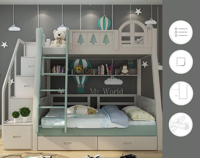 Taobao เตียงนอนสองชั้นสำหรับเด็ก เป็นมิตรต่อสิ่งแวดล้อม taobao Taobao เตียงนอนสองชั้นสำหรับเด็ก เป็นมิตรต่อสิ่งแวดล้อม Untitled 4