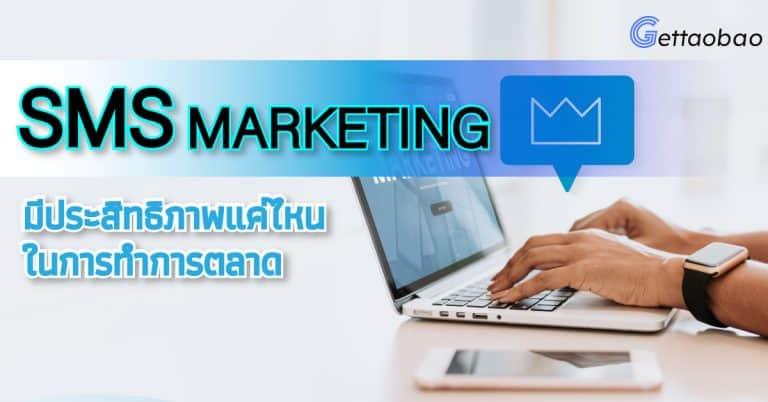Taobao SMS Marketing มีประสิทธิภาพแค่ไหนในการทำการตลาด-gettaobao taobao Taobao SMS Marketing มีประสิทธิภาพแค่ไหนในการทำการตลาด sms 768x402